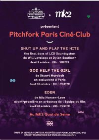 Le Pitchfork Music Festival Paris. Du 9 au 23 octobre 2014 à Paris19. Paris.